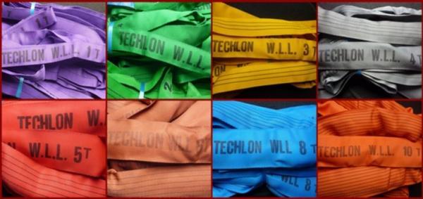 Chingi textile, chingi de ridicare, franghii circulare, chingi circulare