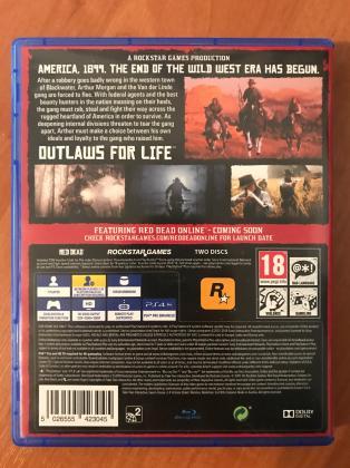 Red Dead Redemption 2 PS4 Joc de vanzare. Jucat doar o singura data.