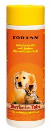 Drojdie de bere tablete Brewers Yeast Fortan Sara Dog