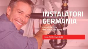 INSTALATORI SANITARI GERMANIA