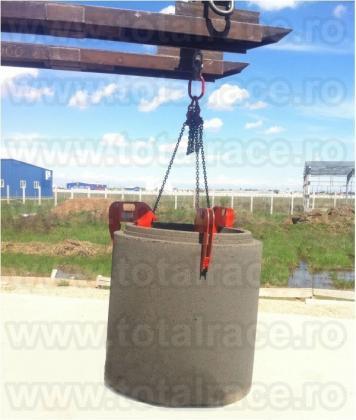 Cleste ridicare tuburi beton