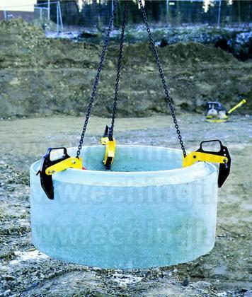 Clesti de ridicare inele de beton