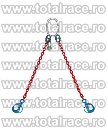 Dispozitive ridicare  lant grad 100 cu 2 brate Total Race