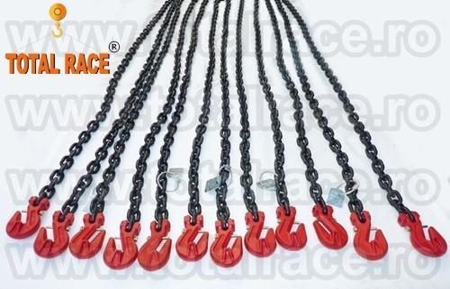 Lanturi de ancorare sistem complet 13 mm Lc = 10000 daN