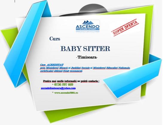 Baby Sitter - Cursuri de calificare