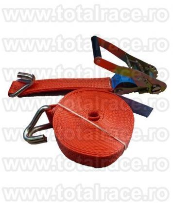 Chingi textile de ancorare cu clichet