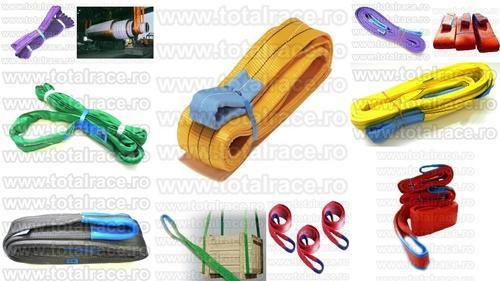 Dispozitive de ridicat sarcini din chingi textile