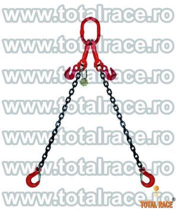 Dispozitive de ridicare din lant cu 2 brate